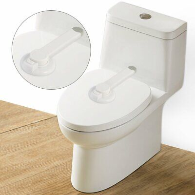 - Toilet Seat Lock Safety Lid Child Proof Baby Toddler Kids Potty Protect Latches