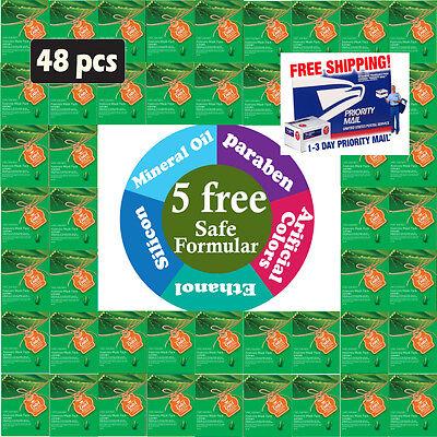 ({Ental}  48 Pcs, Premium Korean Essence Mask Sheets, 5 Chemical Free)