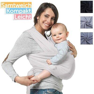 5M Tragetuch Babytragetuch Bauchtrage Babytrage Baby Kinder bis 20kg Baumwolle ()