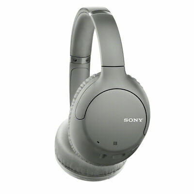 Sony WH-CH710N Wireless Bluetooth Noise Cancelling Over Ear Headphones - Gray
