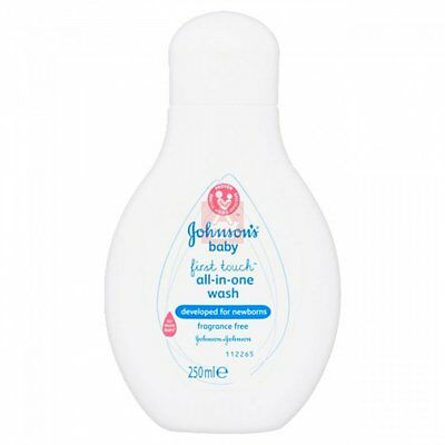 JOHNSON'S BABY FIRST TOUCH ALL IN ONE WASH - 250ML