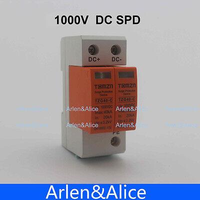 Spd Dc 1000v 20ka40ka House Surge Protector Protective Device