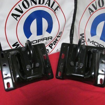 DODGE RAM 2500/3500 Front Tow Hooks NEW OEM MOPAR