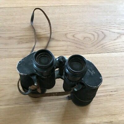 WW2 GERMAN ZEISS 7X50 BLC BINOCULARS SERIAL NUMBER NO 2225448 KRIEGSMARINE