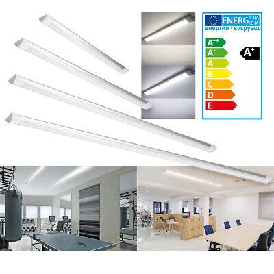 LED Bürolampe Deckenlampe Panel Büro Licht Deckenleuchte Ultraslim Arbeitzimmer Ultra Slim Panel