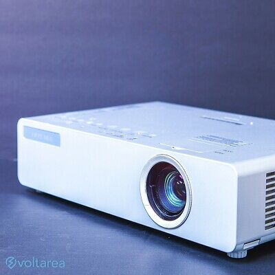 Panasonic PT-LB75 LCD Projector with Remote and cables and HDMI adapter