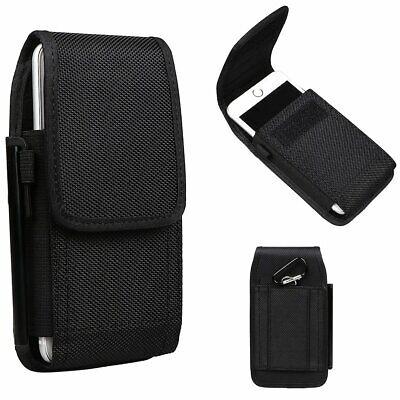 Universal Nylon Belt Hook Pouch Case Holster Fastenr Bag For All Mobile Phones