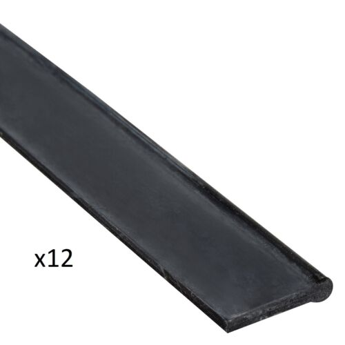 """12 Unger RT450 ErgoTec 18"""" Soft Rubber Replacement Squeegee Blades"""