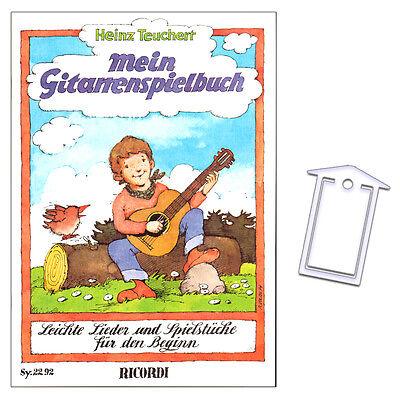 Mein Gitarrenspielbuch - Heinz Teuchert - NotenKlammer - SY2292 - 978393178835