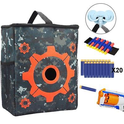 NEW Nerf Gun Nerf N-strike Elite Series Blaster Guns Target Pouch Storage Bag