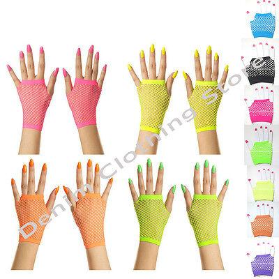 12pair WOMEN LACE WOMEN WRIST LENGTH FINGERLESS FISHNET GLOVES NET WHOLESALE LOT - Wholesale Lace Gloves