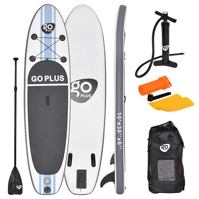 10FT SUP Stand Up Inflatable Paddle Surfing Board Surf Board Adults 305x76x15CM