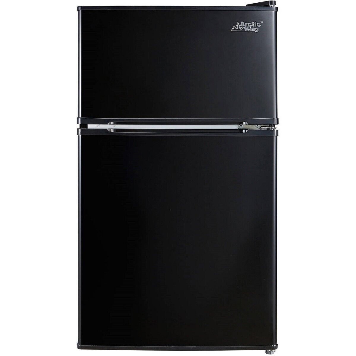 Arctic King 3.2 Cu ft Two Door Compact Refrigerator with Freezer,Black Free Ship