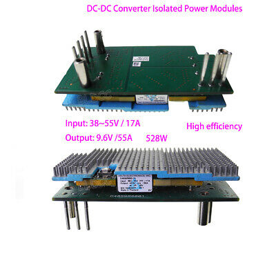 Delta Dc-dc Converter Isolated Power Module Dc 3855v Input Dc 9.6v Output