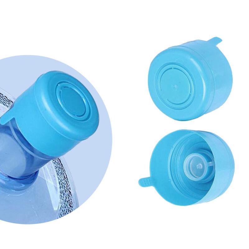 5Pcs*Reusable Water Bottle Snap On Cap Replacement 55mm 3-5 Gallon Water Jug L0E