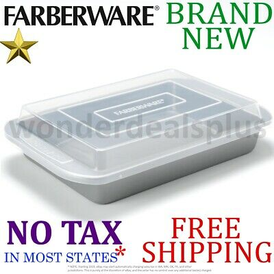 Farberware Nonstick Bakeware 9-Inch x 13-Inch Covered Rectan