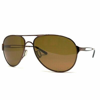 Oakley CAVEAT Brunette Polarized Bronz Womens 60mm Aviator Sunglass OO4054-05](Brunette Sunglasses)