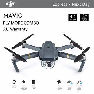 DJI Mavic Pro Fly More Combo & Explorer Pack , Pick up Today
