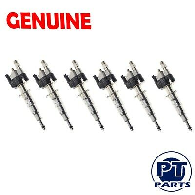 6x OEM FUEL INJECTORS BMW N54 N63135i 335i 535i 550i 650i 750i X5 X6 INDEX 12 7
