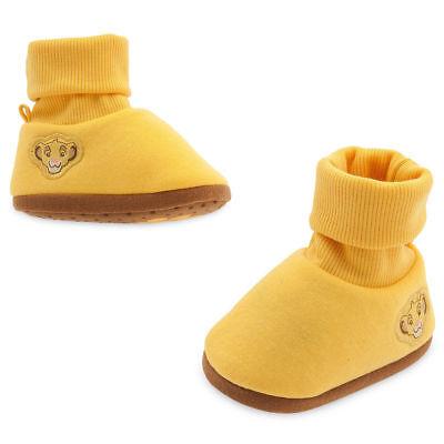 NWT Disney Store Baby Simba Costume Shoes Slippers 0-6,6-12,18-24 M](Simba Baby Costume)