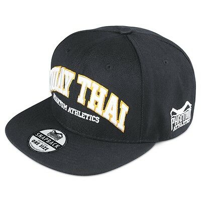 Phantom Athletics Cap Muay Thai, Schw./orang.Baseball Mütze. BJJ, MMA, Muay Thai