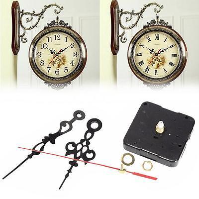 DIY Quartz Clock Spindle Movement Mechanism Repair Parts Module Kit with Hands