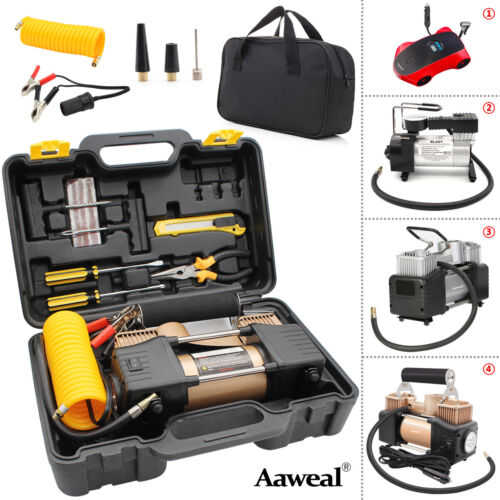 Heavy Duty Portable Air Compressor Car Tyre Auto Tire Inflator Electric 12V DC