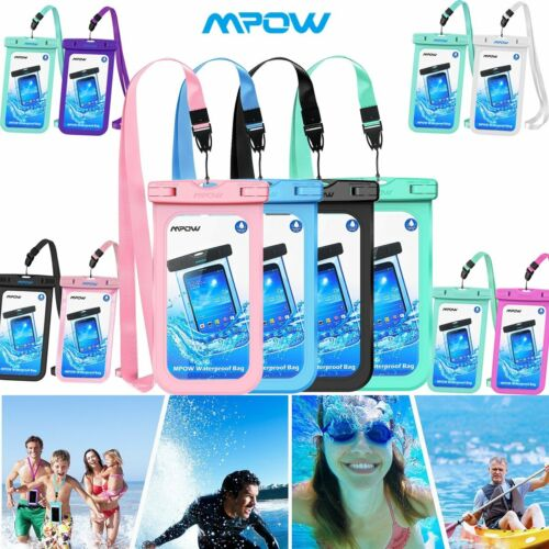 Mpow Waterproof Bag Underwater Pouch Dry Case Cover For Sams