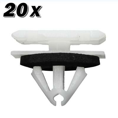 20pcs Nylon Fender Rocker Panel Moulding Liftgate Lamp Clip for Cruze Trax Volt