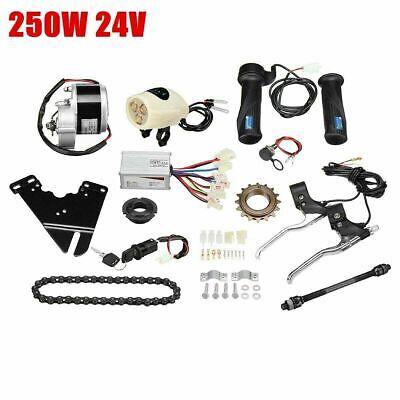 24V 250W Kit de Conversión Bicicleta Eléctrica Motor Mando Para 22-28