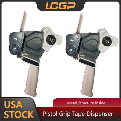 2 Pcs Tape Gun Dispenser Packaging Machine Box Sealing Handheld Tape Dispenser