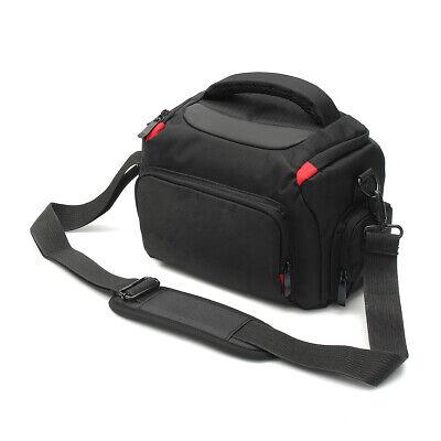 Small Camera Carry Bag with Rain Cover& Strap Storage Travel SLR DSLR Camera