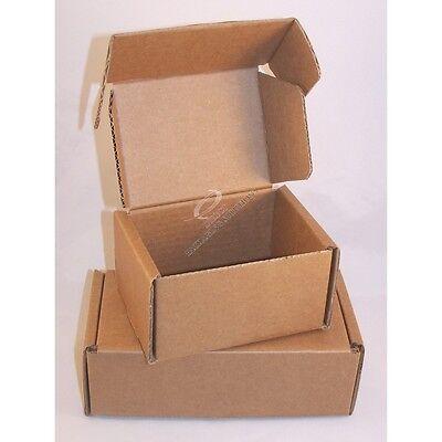 100 x Cardboard Postal Boxes / 304 x 234 x 143mm