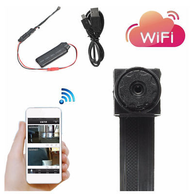 HD Mini Super Small Portable Hidden Spy Camera P2P Wireless WiFi Digital