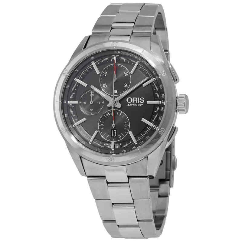 Oris Artix GT Chronograph Automatic Grey Dial Men Watch 01 774 7750 4153-07 8
