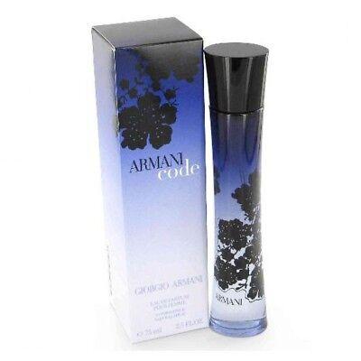 2.5 Edp Spray (Giorgio Armani Code Edp Eau De Perfume Spray 75 ml 2.5 oz )