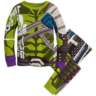 NWT Disney Store Hulk Costume PJ Pal Marvel's Thor Boys 3,4,5,6,7,8,10 - Hulk Boys Costume