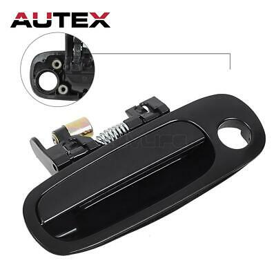 Outer Blk Front Left Driver Side Door Handle TO1310132 For 98-02 TOYOTA COROLLA ()