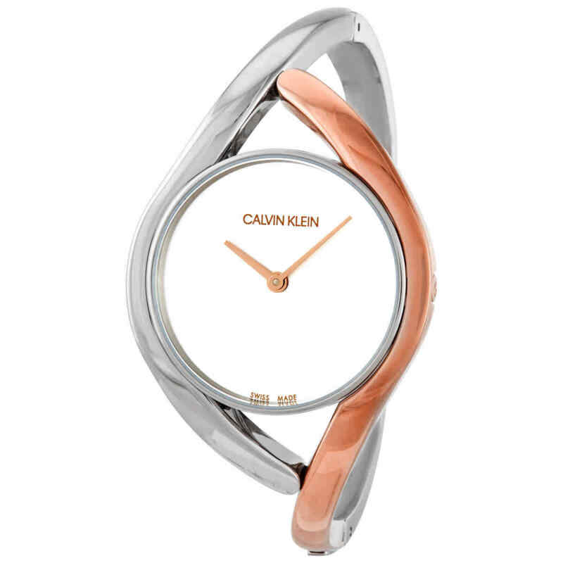 Calvin Klein Party Quartz Silver Dial Ladies Watch K8U2SB16