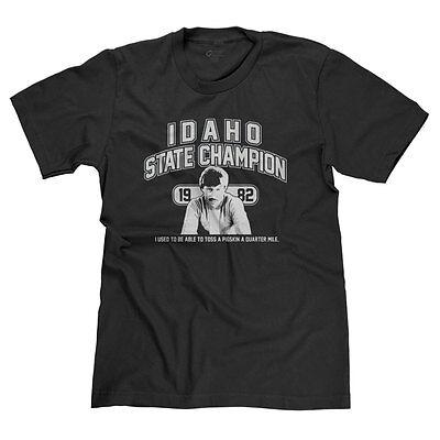 Uncle Rico Idaho State Champion 1982 Funny Napoleon Dynamite Parody T Shirt Tee