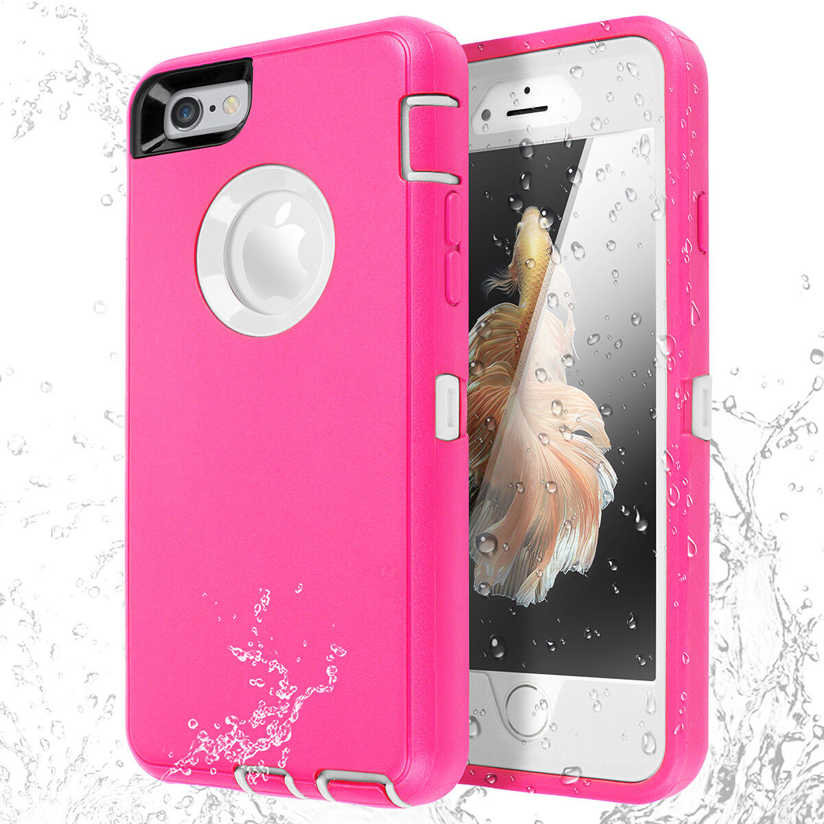 Full Body Protective Hybrid Shockproof Case Cover For iPhone 8 7 6s Plus X XS SE