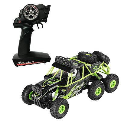 New 1:18 2.4G 6WD Off-road RC Racing Climbing Car All-terrain Crawler Truck RTR