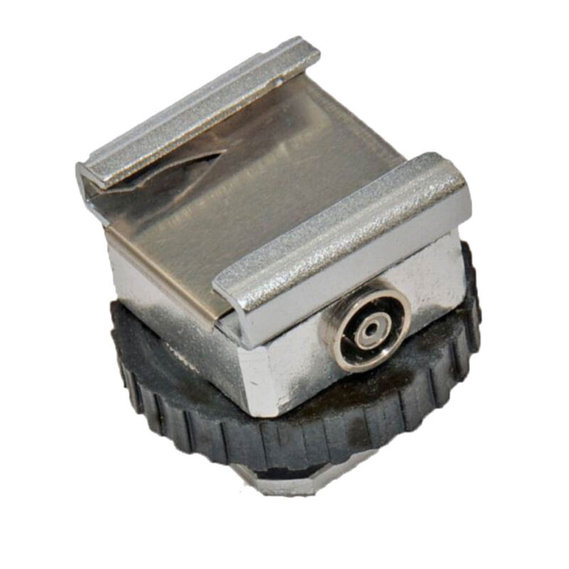 Flash Hot Shoe PC Outlet Converter Adapter for Camera DSLR Speedlites USA Seller