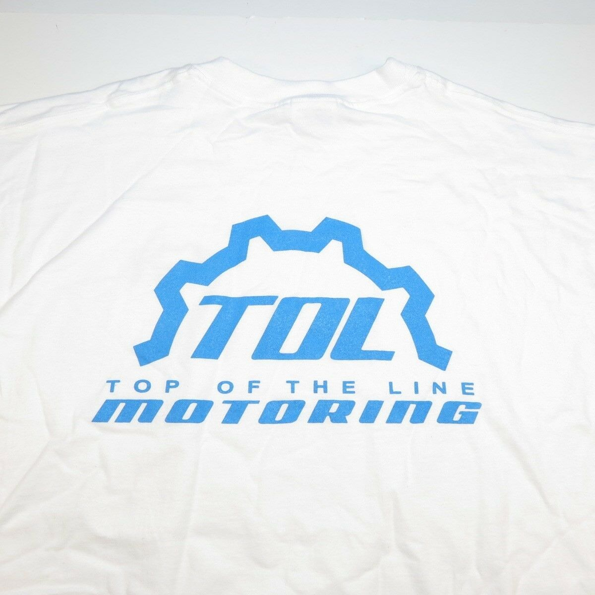 8deebe4cb Details about NEW TOL TOP OF THE LINE DESIGNS MOTORCYCLE RACING TEE T SHIRT  Sz Mens 3XL White