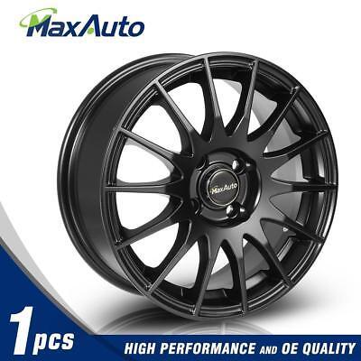 1PCS 15x6.5 Rims 4x100 Matt Black Wheels For Honda Accord Civic CRX Fit Insight