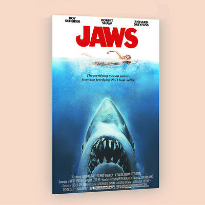 Jaws | LARGE 24X36 MOVIE POSTER |Premium Poster Paper