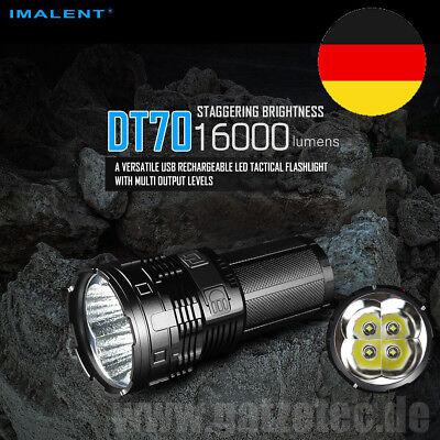 Lumen Cree-led-taschenlampe (2019 Imalent DT70 CREE LED Taschenlampe 16000 Lumen 4x 18650 extrem hell )