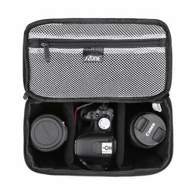 Photography Camera Bag Insert Carry Case Partition Shockproof DSLR Pouch Handbag