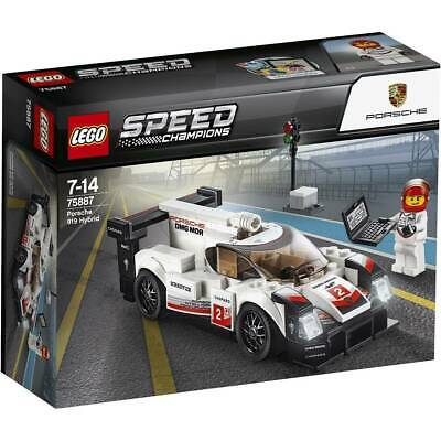 Brand New Lego 75887 Porsche 919 Hybrid Speed Champions Box Set Classic Build