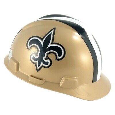 MSA 818402 V-Gard NFL Cap Style Hard Hat - New Orleans Saints